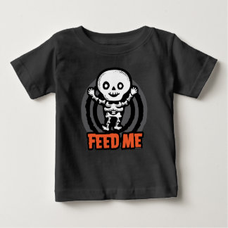Halloween T-shirt: Skeleton Baby T-Shirt