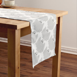 "Halloween Table Runner  14"" X 72""/Ghost"