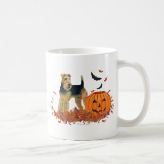 Halloween Terrier Basic White Mug