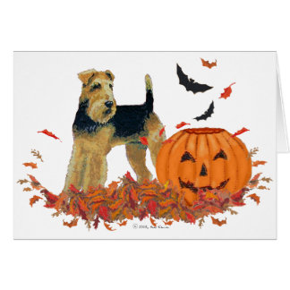 Halloween Terrier Card