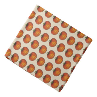 Halloween Thanksgiving Autumn Harvest Fall Pumpkin Bandana