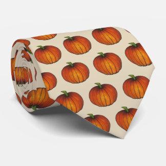 Halloween Thanksgiving Autumn Harvest Fall Pumpkin Tie