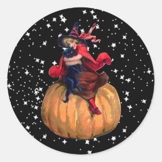 Halloween: The Final Frontier Round Sticker