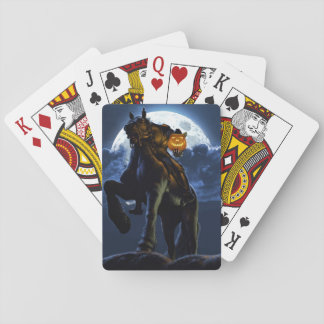 Halloween - The Headless Horseman Playing cards