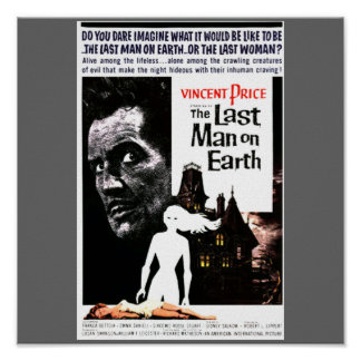 "Halloween ""The Last Man on Earth"" Movie Poster"