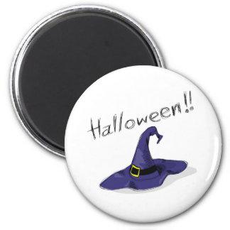 halloween theme 6 cm round magnet