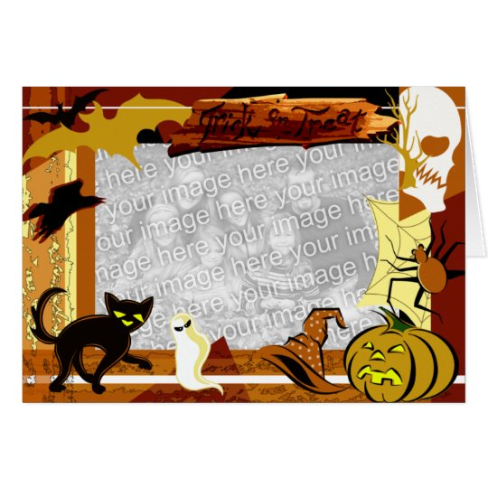 Halloween Theme Photo Template