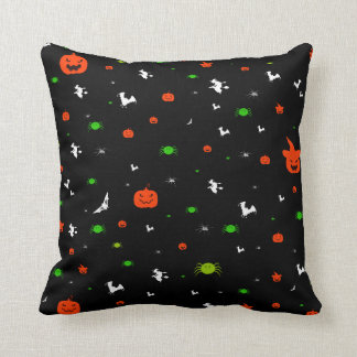 Halloween Theme Throw Pillow