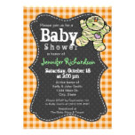 Halloween themed Neutral Baby Shower Invitation