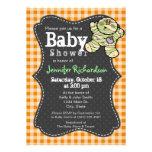 Halloween themed Neutral Baby Shower Invitation