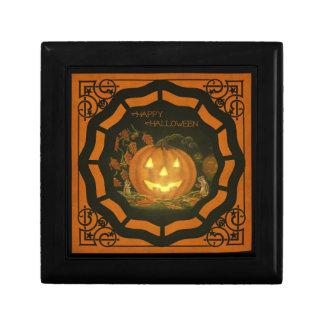 Halloween tile topped gift box