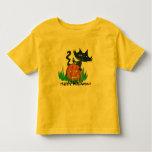 Halloween  Toddler Tee- Halloween Kitty Toddler T-Shirt