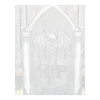 Halloween Tombstone RIP Bat Flyers