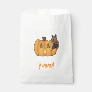 Halloween Treat Bat Favour Bags