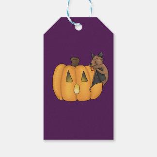 Halloween Treat Bat Gift Tag