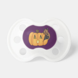 Halloween Treat Bat Pacifier