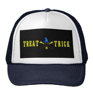 Halloween Treat Or Trick Black Cap