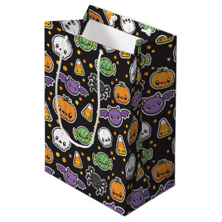 Halloween Treats pattern gift bag