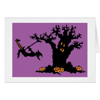 Halloween Tree Card