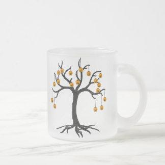 Halloween Tree Jackolanterns Coffee Mugs