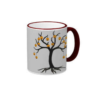 Halloween Tree Jackolanterns Mug