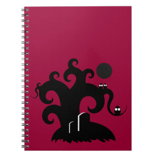 Halloween Tree Spiral Note Books