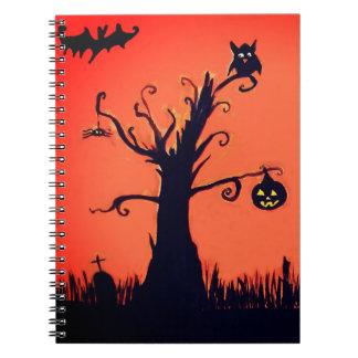 Halloween Tree Notebook