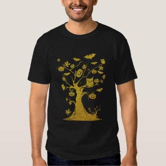 Halloween Tree Tee Shirt