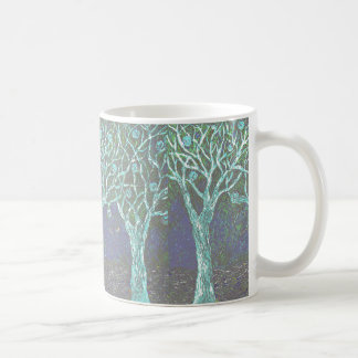 Halloween Trees on Coffee Mug