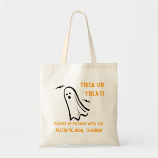 Halloween Trick or Treat Bag - Ghost