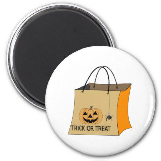 Halloween Trick or Treat Bag Refrigerator Magnets