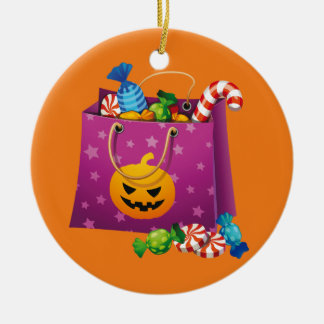 Halloween trick or treat candy christmas ornament