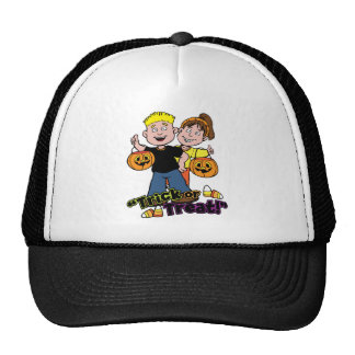 Halloween Trick or Treat Candy Corn Kids Cap