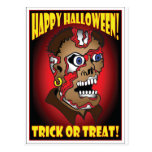 HALLOWEEN TRICK OR TREAT CARDS -2 POST CARD