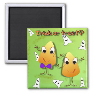 Halloween Trick or Treat Magnet