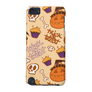 Halloween Trick-or-Treat Pattern iPod Touch (5th Generation) Covers