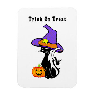 Halloween Trick or Treat Rectangle Magnets