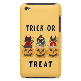 Halloween Trick or Treat Pug Dogs iPod Case-Mate Case
