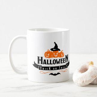 Halloween Trick Or Treat Quote Coffee Mug