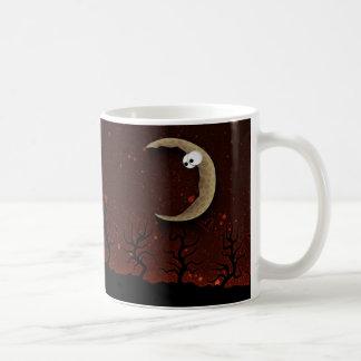 Halloween: Trick or Treat? (Red) Basic White Mug