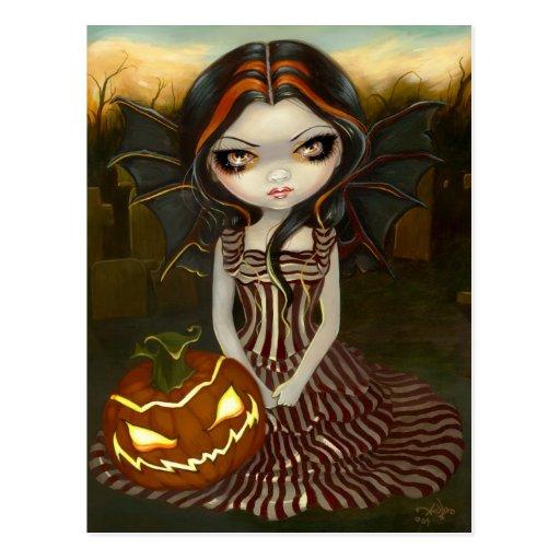 """Halloween Twilight"" Postcard"