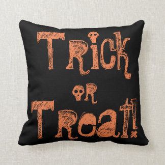 Halloween (two sided) throw pillow