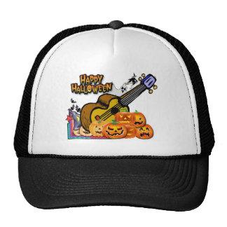 Halloween Ukulele Mesh Hat