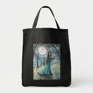 Halloween Vampire Bag by Molly Harrison