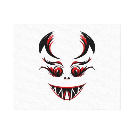 Halloween Vampire Canvas Prints