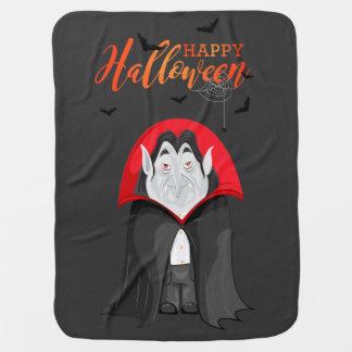 Halloween Vampire Stroller Blanket