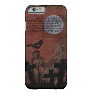 Halloween Vintage Crow Moon Spells Cross Barely There iPhone 6 Case