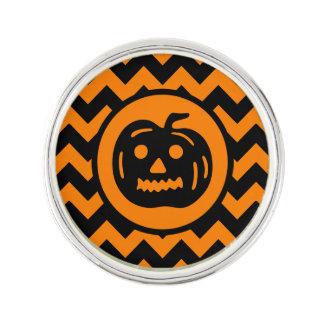Halloween vintage Jack o Lantern Lapel Pin
