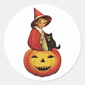 Halloween Vintage Sticker