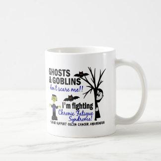 Halloween Warrior CFS Chronic Fatigue Syndrome Mugs